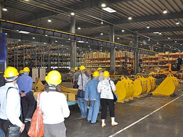 Посещение заводов в Шанхае